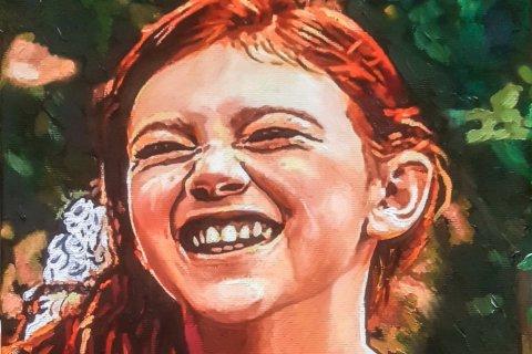 Ritratto di bambina - Sandra Petreni - Pittura e Decorazione